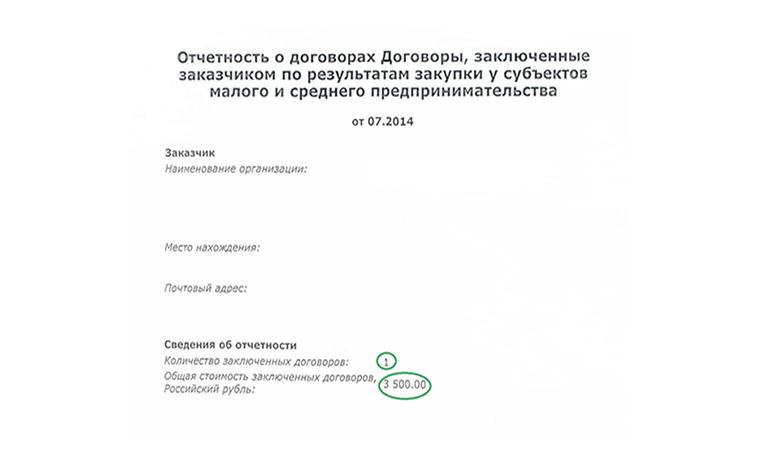 план закупок образец формы